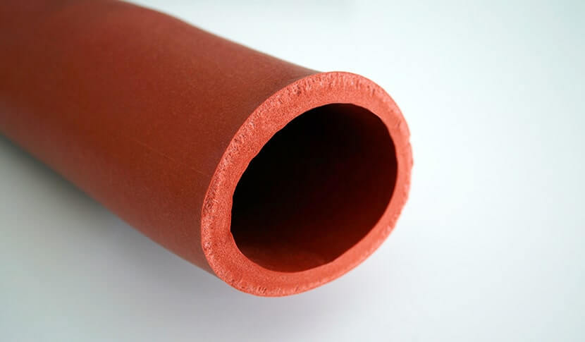 manguera de espuma rojo-marrón Lindemann Silicona